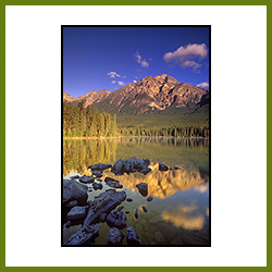 Pyramid Lake, Jasper National Park, AB