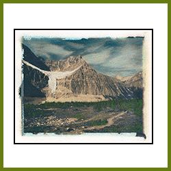Mt Edith Cavell (Image Transfer)